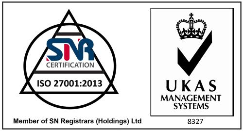 VooServers ISO Certificate
