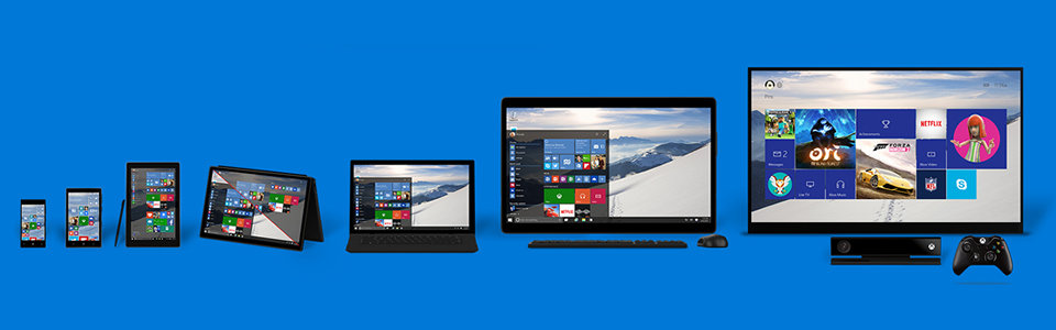 windows 10 available on