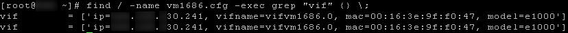 Troubleshooting Xen Virtual Machine Network