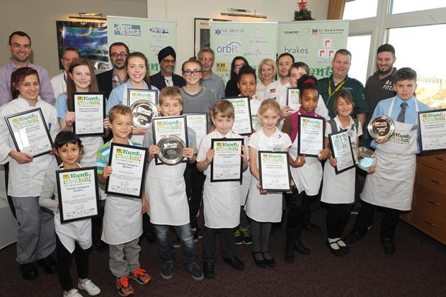 Kents cooks 2015 winners