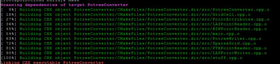 Potree Converter Install