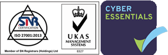 ISO27001 Accredited Cyber Essentials Accredited